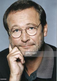 Der Schauspieler Erich Hallhuber. Aufgenommen Juli 1999.