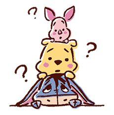 Piglet, Pooh, Eeyore - Winnie the Pooh