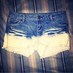 Cute Ombré Shorts Adorable short-shorts; ALL of my proceeds go to my son who is sick. Shorts Jean Shorts