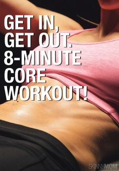 This is an 8 minute workout for your core that is going to make your abs scream!  The best way to weight loss in 2016! READ MORE! #healthydiet #weightlose #weightlosesmoothies #weightloseformen