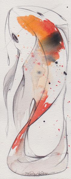 Tight - ORIGINAL WATERCOLOR by jenkraska on Etsy