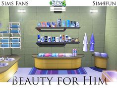 Beauty for Him by Sim4fun at Sims Fans via Sims 4 Updates
