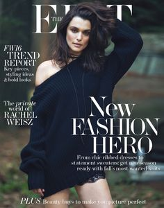 Rachel Weisz on The Edit Magazine August 2016 Cover