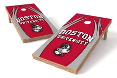 Boston University Terriers 2x4 Cornhole Board Set - The Edge