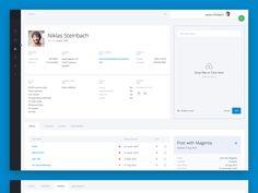 Admin Panel UI/UX