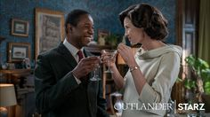 NEW Still of Claire Fraser and Joe Abernathy in Outlander 3×03   Outlander Online