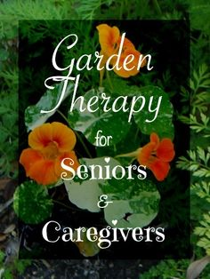 Garden Therapy for Seniors and Caregivers | Creating Daily Joys
