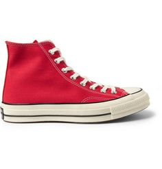 Converse First String Chuck Taylor Canvas High Top Sneakers Converse Chuck Taylor, Trainers, High Top Sneakers, Man Shop, Mens Fashion, Canvas, Shoes, Design, Style