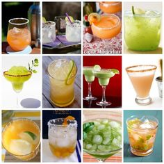 Non Traditional Margarita Recipes