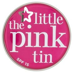 Superdrug the little pink tin lip therapy spf15 balm