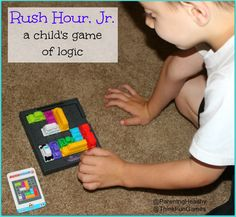 Parenting Healthy: Rush Hour, Jr from @ThinkFun Games #Review