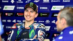 """In the week before the Grand Prix of Mugello, considered perhaps the world's """"hottest"""" date, Jorge Lorenzo sticks hard Valentino Rossi."""