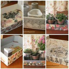 Cajas de fruta fruit box on pinterest manualidades - Cajas fruta recicladas ...