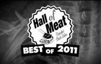 Thrasher Magazine com um vídeo um pouco dolorido pra quem ve imagina que para que sofreu estas quedas Best of 2011 Hall Of Meat, o nome poderia ser as piores quedas de skate, tombos de vários skatistas que marcaram o ano passado.