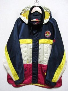 Excited to share the latest addition to my #etsy shop: Rare 90's Tommy Hilfiger Windbreaker/ Color Block/ Tommy Hoodie/ Tommy Hilfiger Sweater/ Tommy Hilfiger Sailing Gear XL http://etsy.me/2E8GQVD #clothing #jacket #blue #birthday #red #vintagetommy #tommyoutdoor #hil