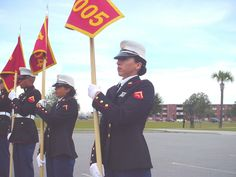 The Marines, the Women of Good ol Parris Island, SC