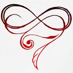Infinity Heart - Frauen Premium T-Shirt