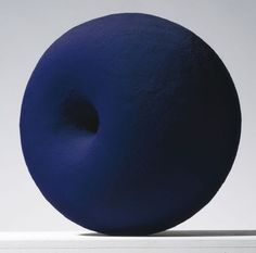 Anish Kapoor via Vjeranski [ Blue, The Coolest Color. CV ]