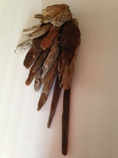 Driftwood Angel Wing by beachblyss on Etsy