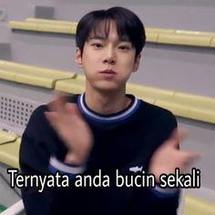 Memes Funny Faces, Funny Kpop Memes, Cute Memes, Funny Tweets Twitter, Current Mood Meme, All Meme, Nct Doyoung, Nct Life, Cartoon Jokes