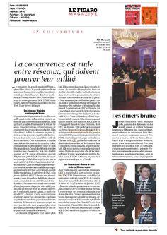 EPWN Paris : Le Figaro Magazine, Dossier sur les réseaux, Mars 2013