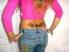 hate that it's called a tramp stamp, perfect spot for BRLS mountain tat Sexy Tattoos, Cute Tattoos, Spine Tattoos, Tribal Tattoos, Funny P, Funny Memes, Tramp Stamp Tattoos, Always Tattoo, Common Tattoos