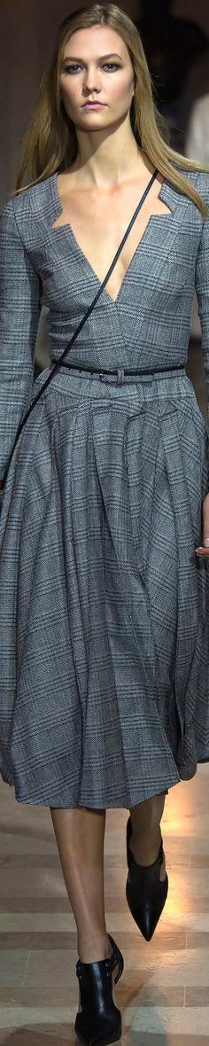 Carolina Herrera Fall/Winter 2016 RTW women fashion outfit clothing style apparel @roressclothes closet ideas