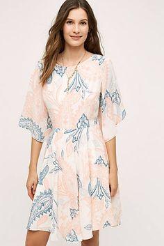 Aprico Silk Dress