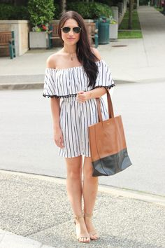 off-the-shoulder-summer-dress jewelry by Standout Boutique