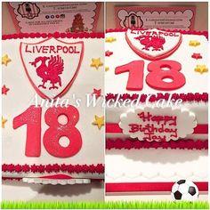 https://flic.kr/p/EAsBpu | 12654503_10205544625602490_7389969950274072100_n | 18th Liverpool football cake