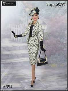 Tenue Outfit Accessoires Pour Fashion Royalty Barbie Silkstone Vintage 1067   eBay
