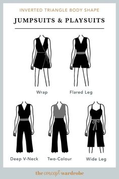 Body Shape Outfits I know you're thinking about what is the meaning of fruit body shapes! Actually, do you know what is the meaning of body shapes exactly? Or which body shape Inverted Triangle Outfits, Inverted Triangle Body, Triangle Body Shape, Rectangle Shape, V Shape Body, Hourglass Body Shape, Body Shapes, Image Coach, Pear Body