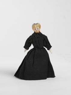 Mrs Reynolds, landlady at Box Back Terrace dolls' house