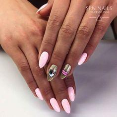 garden kundasang Over 50 Bright Summer Nail Art Designs That Will Be So Trendy All Season Shellac Nails, Nail Manicure, Classy Nails, Trendy Nails, Cute Acrylic Nails, Cute Nails, Evil Eye Nails, Nail Art Designs, Tattoo Designs