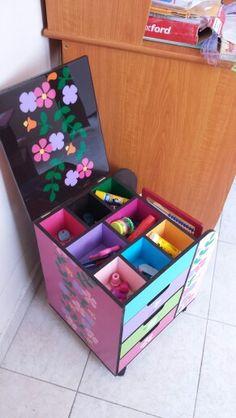 archivero para niñas (abierto)