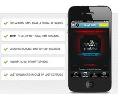 Enhance Personal Safety with the React Mobile App. #Review
