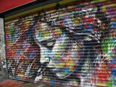 By David Walker in SOHO in New York - Beautiful, would be great on canvas too