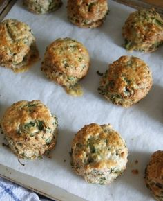 Pancetta, kale and stilton scones