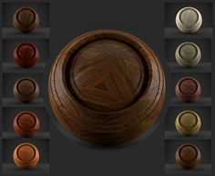 3D Cycles Wood Shaders - 10 Different Wood Shaders, High Quality Material For Blender Cycles Renderer - PACK 1
