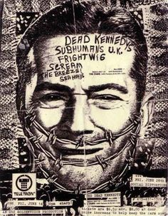 Dead Kennedys, Subhumans U.K., Frightwig, Scream, The Breeze and Sea Hags | 35 Old Punk Flyers That Prove Punk Used To Be So Cool