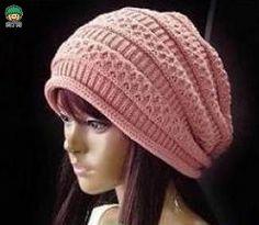 教你怎么织帽子 韩版流行针织帽子棒针编织图解╭★肉丁网