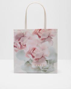 0180d207ed Ted Baker Porcelain Rose large shopper bag Pink Ted Baker Shopper Bag,  Large Shopper Bag