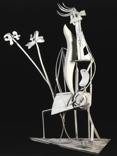 Pablo Picasso, The woman in the garden, 1929/ 1930, Iron, Museum Picasso, Paris