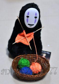 Knitting No Face Spirited Away anime figure $16