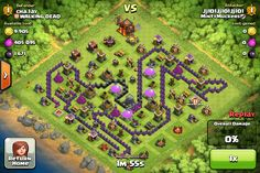 Odd layout! (Clash of Clans)