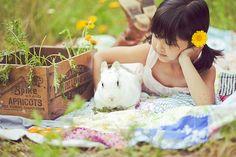 i wish we had a rabbit.