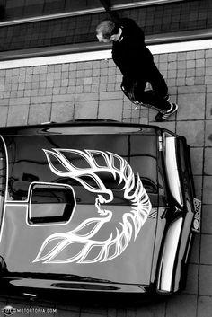 Good idea! Nice Black with Silver Firebird or White Firebird or both Silver & White Firebird Lamborghini, Ferrari, Lexus Lfa, Pontiac Firebird Trans Am, Constructeur Automobile, Fast Cars, Exotic Cars, Sexy Cars, Shelby Gt500