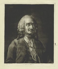 Jean-Philippe Rameau (1683-1764), engraving (1770), by Jacques-Fabien Gautier [Gautier d'Agoty] (1716-1785).