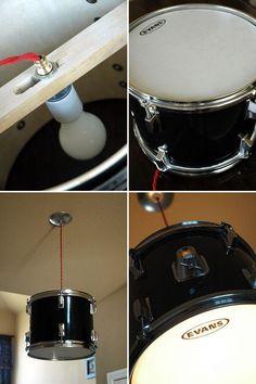 Drum Light Tutorial #DIY