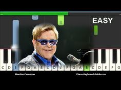 How to play Candle In The Wind by Elton John. Easy Synthesia piano tutorial for beginners. Check out the notes for Candle In The Wind by Elton John here: htt. Piano Music Easy, Piano Music Notes, Piano Songs, Piano Sheet Music, Piano Lessons, Music Lessons, Music Keyboard, Printable Sheet Music, Candle In The Wind